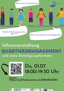 Infoveranstaltung QM Hünxe, 01.07.21, 18 bis 19:30 Uhr